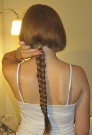 Haare verkaufen - mit neuem Kurzhaarschnitt