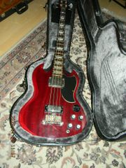 E BASS mahagony cherry red