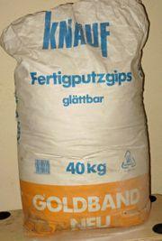 Knauf Fertigputzgips Goldband