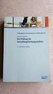 Lehrbuch Die Prüfung der Verwaltungsfachangestellten