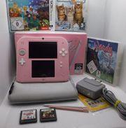 Nintendo 2DS Original Konsole Rosa-OVP