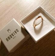Klasiker Ring aus 375er rose