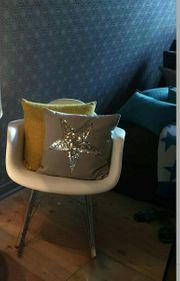 Schaukelstuhl Eames Plastic Armchair