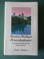 Krimi von Martin Walker PROVOKATEURE