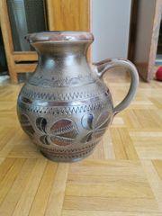 Krug Vase aus Steingut 26