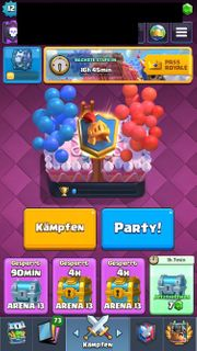 Clash Royale Account Max Deck