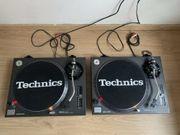 Technics SL-1210MK2 Plattenspieler - Schwarze DJ-Decks