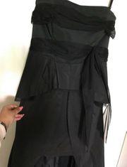 Schwarzes Abendkleid Ballkleid Abiye