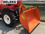 DELEKS® PRI-160-U hydrauische Heckschaufel mit