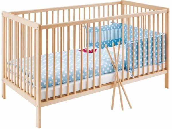 PINOLINO Kinderbett in unbehandelter Buche