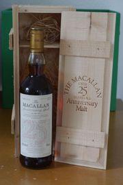 Macallan 25 Jahre 1975-2000 Sherry