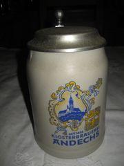 Klosterbrauerei Andechs Bierkrug 05 Liter