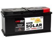 Langzeit AGM Solar 120Ah 12V