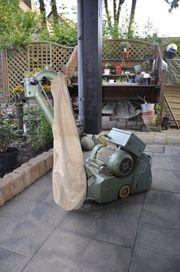 Parkettschleifmaschinen Hummel Elan Randschleifer Einscheibenmaschine