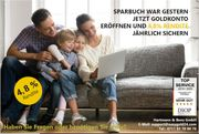 Goldsparplan - neu bei easygold24 Goldbarren