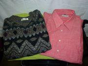 Herren Hemd und Pullover Gr