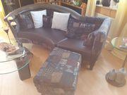 Schickes geschwungenes Design Sofa mit