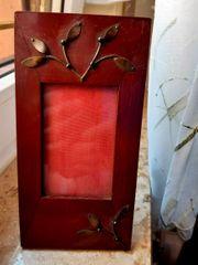 Antiker dekorativer Fotorahmen aus d