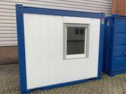 10ft Bürocontainer Baustellencontainer Baucontainer kaufen