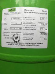 Druckausdehnungsgefäß Membran - Druckausdehnungsgefäß Ausgleichsbehälter refixs