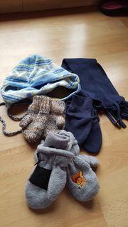 Handschuhe Mütze Schal