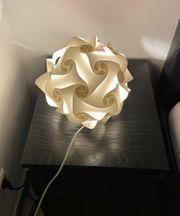 Nachttischlampe Tischlampe Zusammenstecken Fillsta weiß