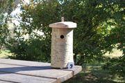 Nistkasten für Kleinmeisen Baumstammnistkasten Vogelhaus