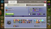 Clash of clans account th9
