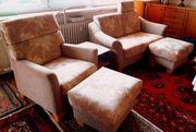 Sofa Zweisitzer Sessel Polsterhocker wie