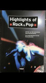 Highlights of Rock Pop Songbuch