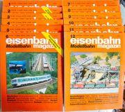 Eisenbahn Magazin Modellbahn Januar-Dezember 1994