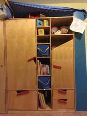 Haba komplettes Kinderzimmer Bett Schrank