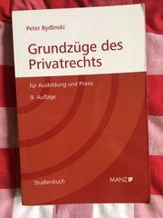 Buch Grundzüge des Privatrechts