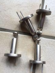 Gardinenbefestigung für 2 Vorhänge zum