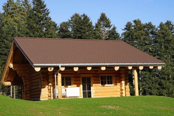 Urlaub inmitten der Natur - Blockhütte