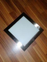 Lampe quadratisch