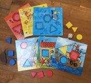 Kinderspiel Meine Farben und Formen