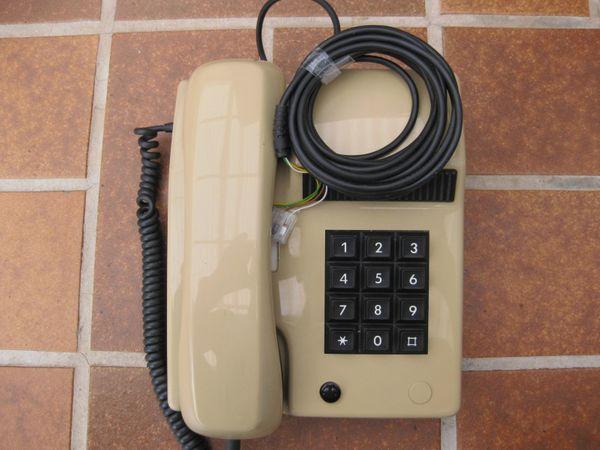 Schönes Altes Beige Tastentelefon