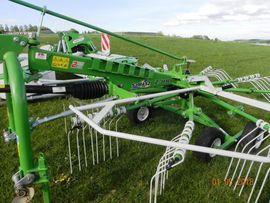 Landwirtschaft, Weinbau - Kreiselschwader SaMASZ Z 410 Vorführgerät