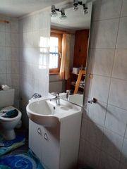 Badezimmerset Spiegel Waschbecken Waschbecken Unterbau