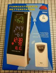 Wetterstation NEU - Funk - Wetterprognose -LCD Display