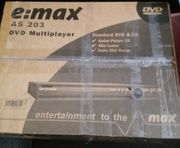 Neuer DVD Player e max