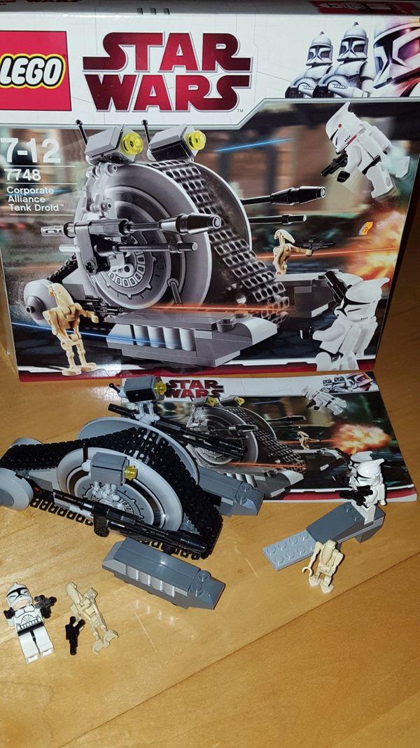 mit Bauanleitung Lego Star Wars 7748 Corporatealliance Tank Droid