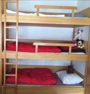 Stockbett für 3 Personen