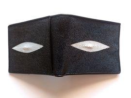 PORTEMONNAIE ROCHEN STINGRAY ECHTES ROCHENLEDER: Kleinanzeigen aus Dohna - Rubrik Taschen, Koffer, Accessoires