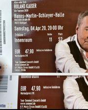 Roland Kaiser Tickets Sonder Preis