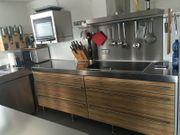 Einbauküche Modulküche Küche Edelstahl ähnl