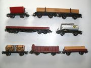 7 Märklin H0 Güterwagen