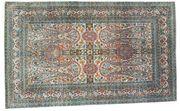 Orientteppich Seide auf Seide antik