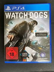 PS4 Watch Dogs Spiel